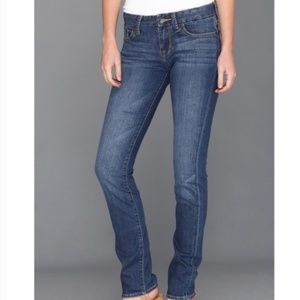Lucky Brand Lola Straight Run Jeans